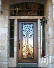 S160819 Wrought Iron Single Doors C | Doors for sale in Central Region, Kampala