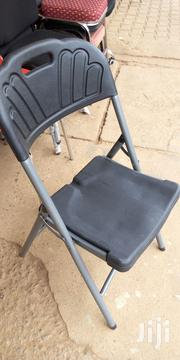 Foldable Plastic Chair Black | Furniture for sale in Central Region, Kampala