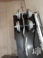 Dumbbell And Bench Set | Sports Equipment for sale in Central Region, Kampala