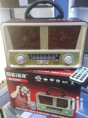 MEIER RECHARHPGABLE X-BASS FM RADIO/BLUETOOTH/USB | TV & DVD Equipment for sale in Central Region, Kampala