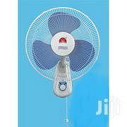 "16"" Hurricane Oscillating Wall Fan - Blue 