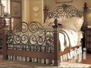 Beauty Of Steel And Wood Bed | Furniture for sale in Central Region, Kampala
