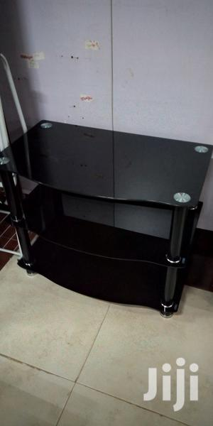 Simple Glass Tv Stand