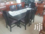 Black 6 Seater Dinning Set | Furniture for sale in Central Region, Kampala