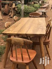 Wooden Crafted Dining Set 6 Seaters | Furniture for sale in Central Region, Kampala