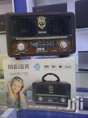 MEIER RECHARGABLE FM RADIO WITH BLUETOOTH/USB | TV & DVD Equipment for sale in Central Region, Kampala