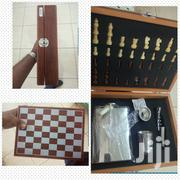 Hip Flask Set With Chess Game | Sports Equipment for sale in Central Region, Kampala