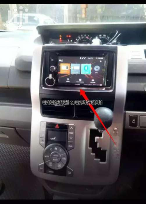 Double Din Radio Fitted In Toyota Wish