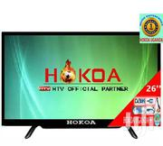 Hokoa 26 Inch Flat Screen T.V With Free To Air Decoder In Built | TV & DVD Equipment for sale in Central Region, Kampala