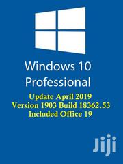 Windows 10 V1903 2019 Update Include Office 2019 | Software for sale in Central Region, Kampala