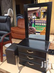 Dressing Mirror Classic Wood With Chair | Furniture for sale in Central Region, Kampala