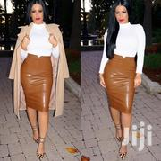 Faux Leather Pencil Skirt | Clothing for sale in Central Region, Kampala