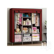 3 Column Wooded Clothe Rack - Maroon | Furniture for sale in Central Region, Kampala