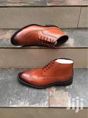 Hitop Oxford Leather Boot | Clothing for sale in Central Region, Kampala