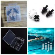 Classy Silicone Waterproof Swimming Ear Plugs & Noseclip Set With Case | Sports Equipment for sale in Central Region, Kampala