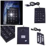 USB Wired Numeric Keyboard Keypad Adapter 19 Keys For Laptop PC | Laptops & Computers for sale in Central Region, Kampala