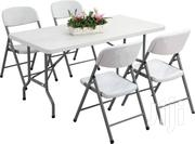 Rectangular Foldable Plastic Table | Furniture for sale in Central Region, Kampala