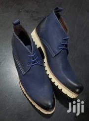 Maroon Blue Classic Boots | Shoes for sale in Central Region, Kampala