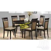 Classic Six Seater Dining Table, Available On Sale At Factory Price | Furniture for sale in Central Region, Kampala