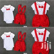 New Born Baby Gentleman Clothes Set With Suspender For Both Sex | Children's Clothing for sale in Central Region, Kampala