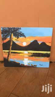 Painting Of The Sunset And Mountains | Arts & Crafts for sale in Central Region, Kampala