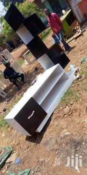 Black And White Tv Stand With Shelves | Furniture for sale in Central Region, Kampala