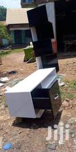 Black And White Tv Stand With Shelves   Furniture for sale in Kampala, Central Region, Uganda