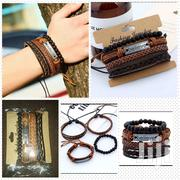 Believe Leather Unisex Bracelet Hand Rope Vintage Woven Jewelry | Jewelry for sale in Central Region, Kampala