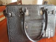Black Leather Office Bag | Bags for sale in Central Region, Kampala