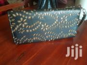 Black And Gold Lether Purse | Bags for sale in Central Region, Kampala