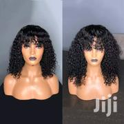 Curly Human Hair Wig With Fringe | Hair Beauty for sale in Central Region, Kampala
