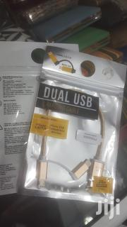 Dual USB Charging Cable | Accessories for Mobile Phones & Tablets for sale in Central Region, Kampala