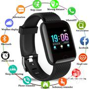 Smart Watch Blood Pressure Waterproof Heart Rate Monitor | Accessories for Mobile Phones & Tablets for sale in Central Region, Kampala