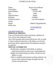 Human Resources CV | Human Resources CVs for sale in Central Region, Kampala