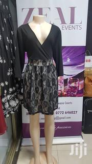 Stunning Mini Black Dress With Lace Detail | Clothing for sale in Central Region, Kampala