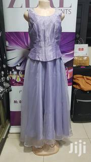 Lilac Purple Sheer Long Formal Dress | Clothing for sale in Central Region, Kampala