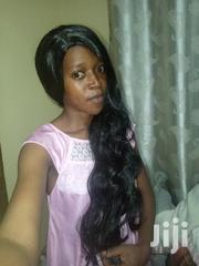 26 Inch Black Synthetic Wig | Hair Beauty for sale in Central Region, Kampala