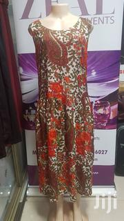 Cotton Orange And Green Dress | Clothing for sale in Central Region, Kampala