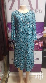 Blue Long Sleeved Cotton Dress | Clothing for sale in Central Region, Kampala