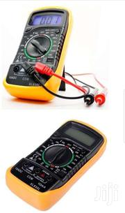 Digital Multimeter With LCD AC/DC Ameter Resistance Capacitance Tester | TV & DVD Equipment for sale in Central Region, Kampala