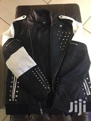 INC LEATHER SPIKE JACKET | Clothing for sale in Central Region, Kampala