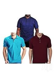 Pack Of 3 Short Sleeve Polo T-shirts | Clothing for sale in Central Region, Kampala