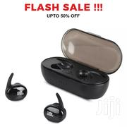 JBL Superbass Wireless Earbuds Earpods Airpods With Charging Case | Headphones for sale in Central Region, Kampala