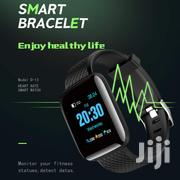Blood Pressure Wristband Heart Rate Monitor Smart Watch | Accessories for Mobile Phones & Tablets for sale in Central Region, Kampala
