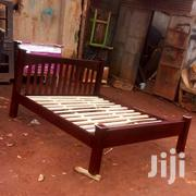 Simple Mahogany Beds   Furniture for sale in Central Region, Kampala