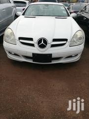 New Mercedes-Benz SLK Class 2008 White   Cars for sale in Central Region, Kampala