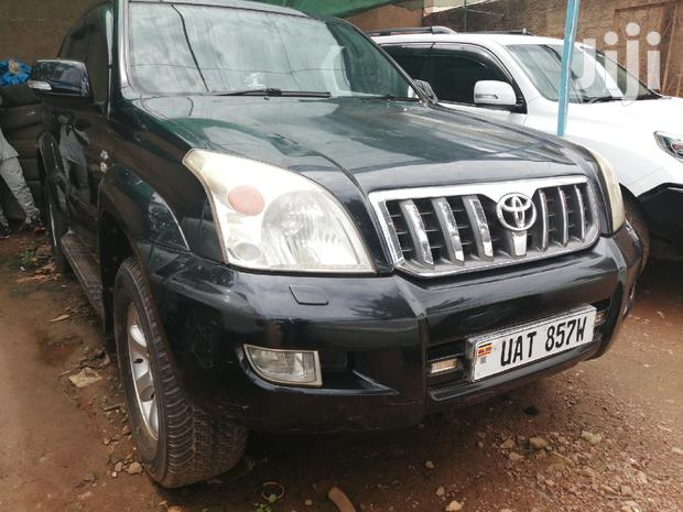 Archive: New Toyota Land Cruiser Prado 2002 Black