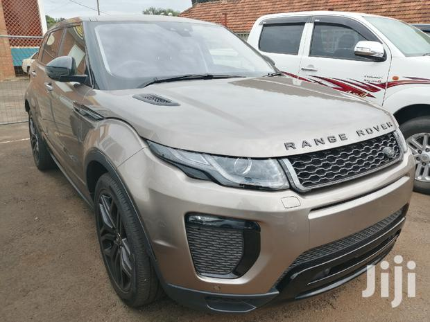 Archive: New Land Rover Range Rover Evoque 2016 Gray