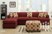 Red 5sitter L/Sofa | Furniture for sale in Central Region, Kampala