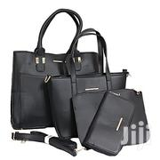 Women's Susen (4 in 1) Hand Bag With Scarf - Black | Bags for sale in Central Region, Kampala